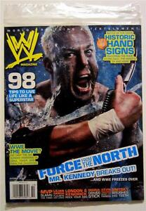 WWE WORLD WRESTLING ENTERTAINMENT MAGAZINE OCTOBER 2007 (BRAND NEW)