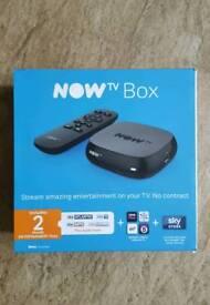 *Brand New* NOW TV box