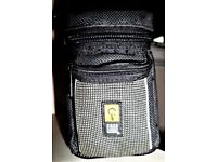 CASE LOGIC Digital Compact Camera Carry Pouch with Belt Loop - Free P&P