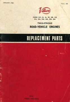 1966 - Villiers - Two-Stroke Road-Vehicle Engine Spare Parts