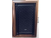 Rare Pair Vintage Floor Standing Akai SW-155 4 Way Speakers 70's (sold pending payment)