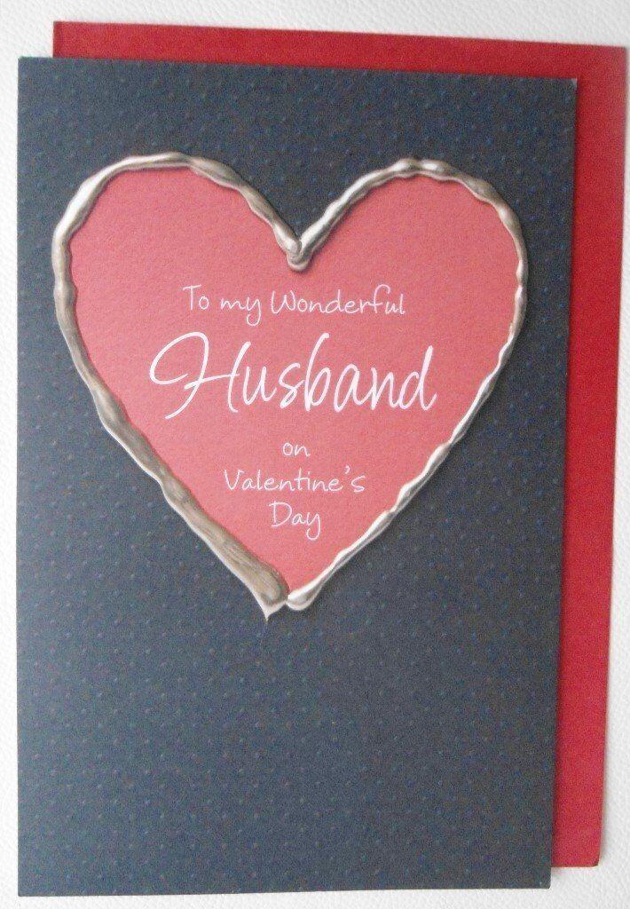 Husband Valentine's Cards – Large