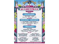 Isle of Wight Festival 16- 20 Sept 2021: 2 adult weekend camping tickets