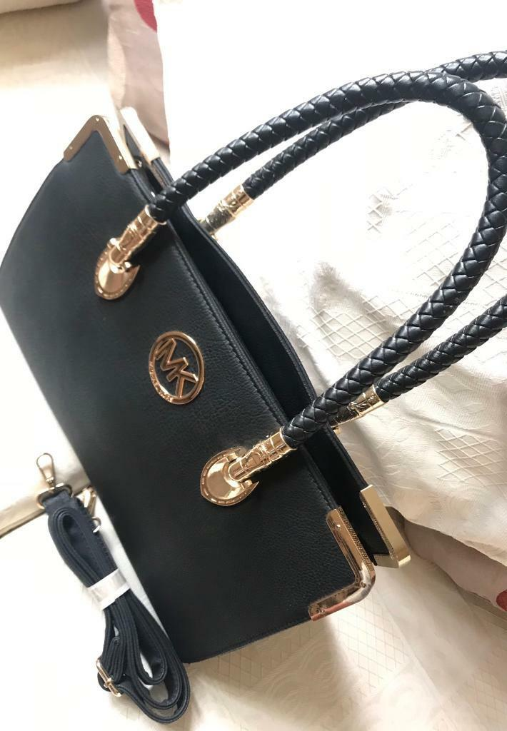 defca9c86033 Beautiful Black MK Style Hand Bag Classic Fashion New Large Handbag  Shoulder Bag