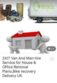MAN AND VAN REMOVAL 24/7 ADAY