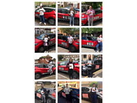 Approved Driving Instructor with Red Driving School