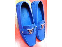 LV Louis Vuitton Monte Carlo Mens Shoes Size 9 with Belt £510