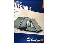 Tent outwell Oregon 5 lovely condition