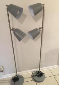 Double Head Floor Lamps (from Habitat)