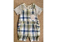 NEW baby boy girl dungarees 0-3 month