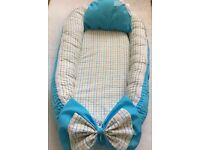 New baby nest with removable cover and pillow,from 0-12 month