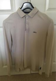 Armani Jeans Long Sleeve Polo Size XXL (42-44)