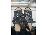 Size 5 platform sandals
