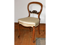 Pretty Victorian bedroom or occasional chair