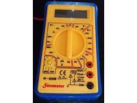 Digital Multimeter With Manual