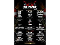 Download Festival 2017 - 2x Saturday Day Tickets + Car Parking Pass, Biffy Clyro