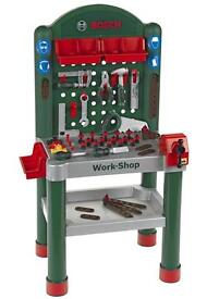 Children's Bosch Workbench, Tool-box & Tools