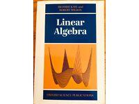 Linear Algebra by Kaye & Wilson