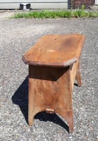 Antique shoe shine box for sale comes with brushes and polish.
