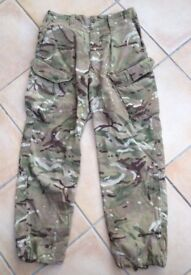 British Army MTP (pcs) combat trousers temperate weather, worn