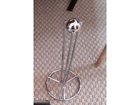 Kitchen roll holder free standing chrome
