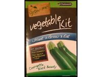 Chatsworth 'Grow Me: Courgette Black Beauty' Vegetable Kit (new)
