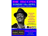 SUNDAY 16th APRIL - 60s 70s SOUL / REGGAE / MOTOWN / NORTHERN SOUL with DOUBLE BARREL - ST GEORGE