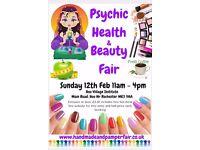 Psychic Health and Beauty Fair 12th February