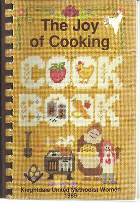KNIGHTDALE NC 1989 NORTH CAROLINA *THE JOY OF COOKING COOK BOOK METHODIST (Knightdale Nc)