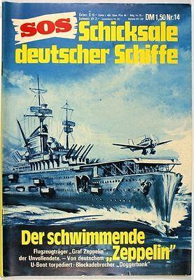 SOS Schicksale deutscher Schiffe Band 14 in Z1- Pabel
