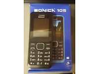 SONICA 105 PHONE UNLOCKED BRAND NEW WITH RECEIPT