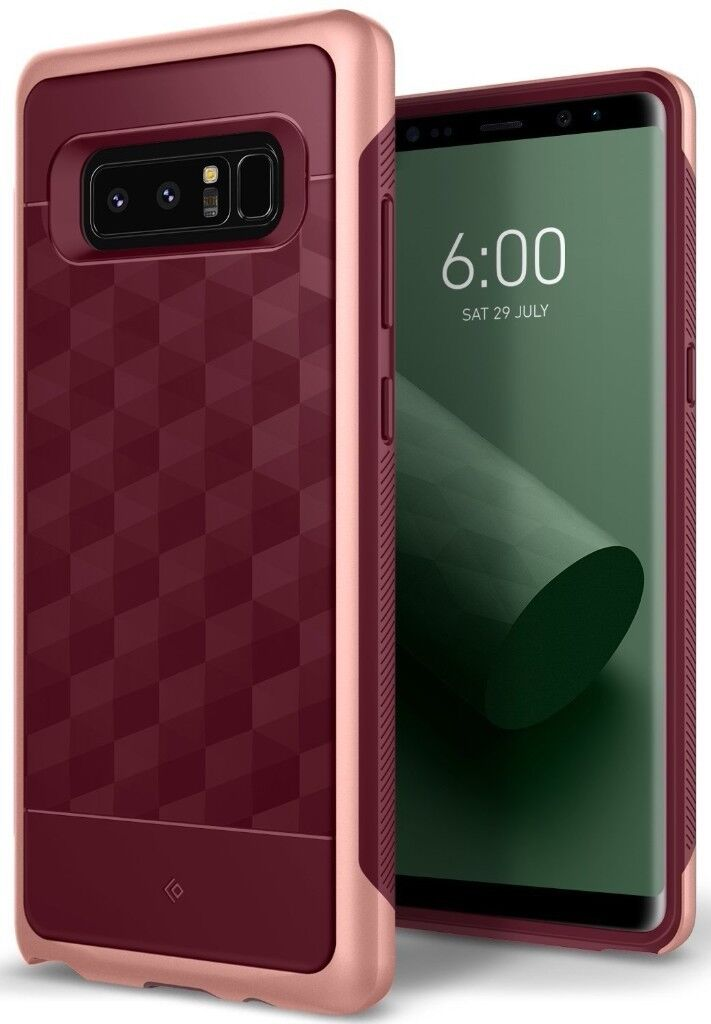 best sneakers 4369b 14f14 Caseology® Samsung Galaxy Note 8 [PARALLAX] Shockproof TPU Bumper Case  Cover Burgundy NEW | in Old Town, Edinburgh | Gumtree