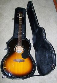 Tanglewood Guitar and Hard case