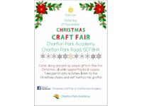 Christmas Craft Fair at Charlton Park School - Stall holders wanted!
