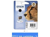 New Epson Printer Ink Black T0711 In original packing Priced low for a quick sale