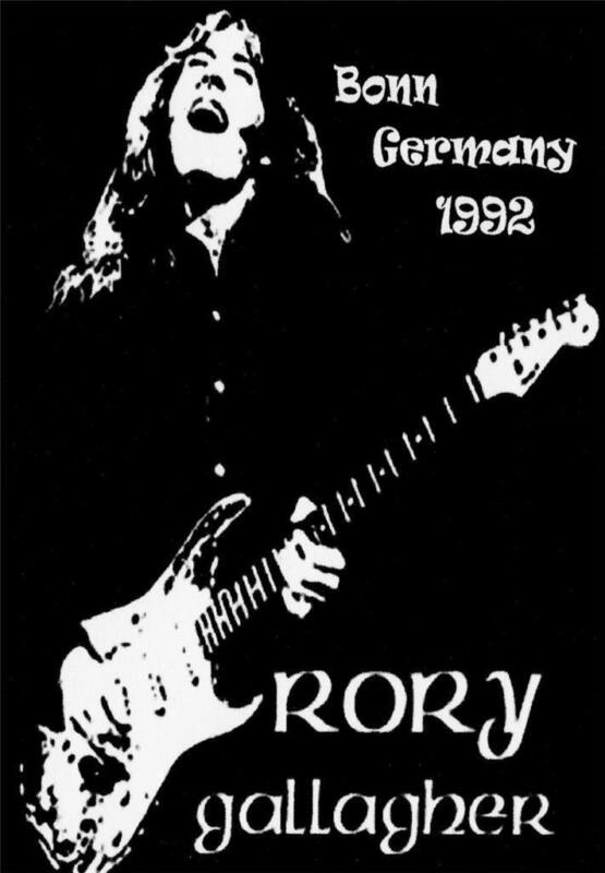 Rory Gallagher Poster Ebay