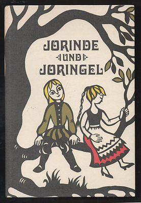 Jorinde und Joringel – Brüder Grimm  DDR Bilderbuch  Puppen  Märchen