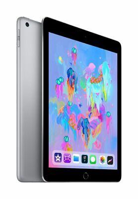 Apple iPad 6th Gen. 32GB Factory Unlocked - Space Gray A1954 9.7 32 GB Tablet 4G