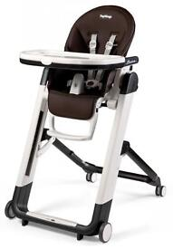 Peg perego siesta high chair with toys