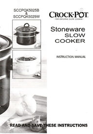 Crock Pot - Slow Cooker - 2.4 Litres - Excellent Condition - Only Used Twice - £10