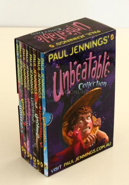 PAUL JENNINGS UNBEATABLE COLLECTION 8 BOOK SET IN SLIPCASE BRAND NEW