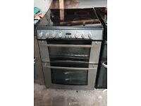 6 MONTHS WARRANTY Stainless Steel Belling 60cm, double oven electric cooker FREE DELIVERY