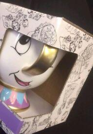 Brand new boxed beauty and beast chip mug