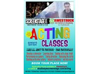Acting Classes (for ages 18+) Starting Sun 10 September (first one free!)
