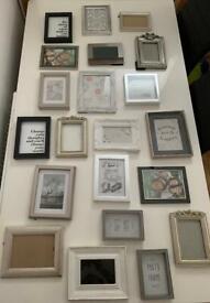 Photo Frames job lot