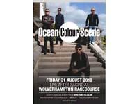 2x Ocean Colour Scene Tickets
