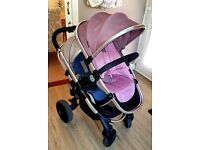Icandy Peach 3 Blossom Double Buggy Pushchair