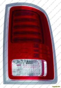 Tail Light Passenger Side Chrome Laramie/Longhorn Models High Quality Dodge Ram 2013-2014