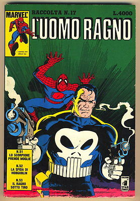 LUOMO RAGNO RACCOLTA NUM. 17 MARVEL STAR COMICS