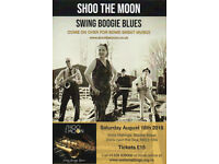 An evening of SWING BOOGIE & BLUES from SHOO THE MOON presented by WELLS MALTINGS TRUST